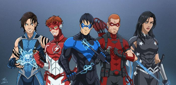 The Titans (Earth-27) by phil-cho
