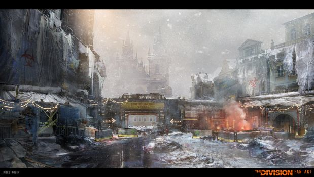 The Division - Fan Art by jamesdesign1