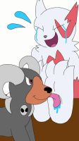Zangoose Tickled by BlubbaBloing