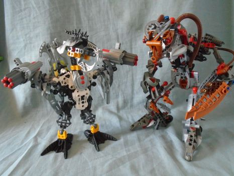 Aren't they official ? #35 Manutri and Makuta Nui by vahki6