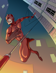 Daredevil by Mercvtio