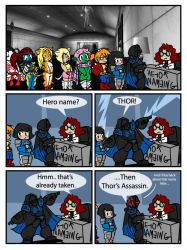 City of Heroes Name comic by Drunkfu