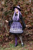 Purple Witch Lolita 4 by Enolla