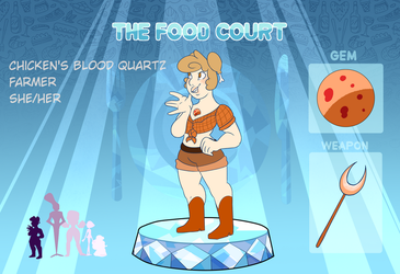 [TFC] Chicken's Blood Quartz App by crumplebottom