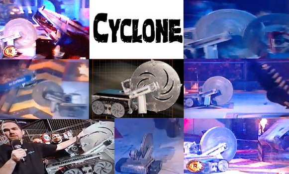Robot Wars' Cyclone by Headbanger14