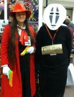 Alucard and NoFace by VeronicaPrower