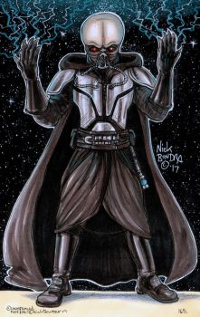 Darth Tenebrous by Phraggle