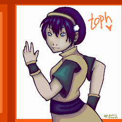 Toph by SergeantFruitfly