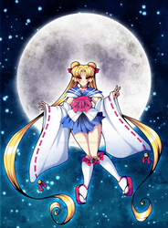 .:Ookami Moon:. by MegzieSassypants