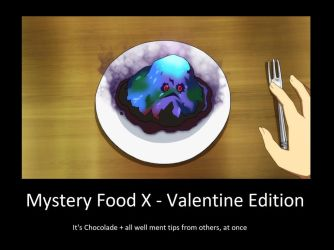 Mystery Food X - Valentine Edition by neogoki