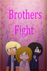 Brothers Fight Cover by EvoliGirl11Drawing
