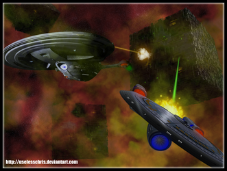 ST:Borg Encounter by UselessChris