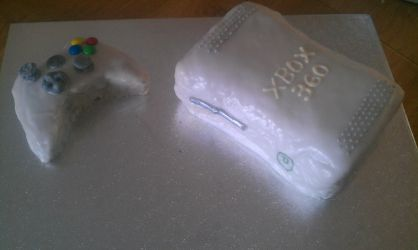 XBox Cake by cookie0587