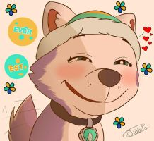 PAW Patrol - Everest's Smile by AO-2-NICK