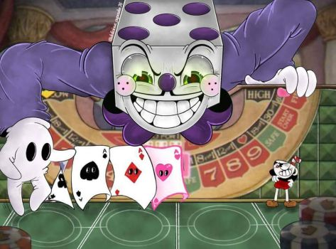 [Cuphead fanart] All bets are off! by DeliciousCupcake76