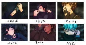 HYPE-9:Photocards by alvichi