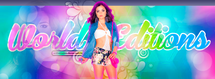 +Portada De Lucy Hale By AnthoCookie- by AnthoCookie