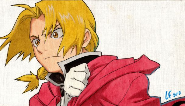 Edward Elric by lautaro-lf