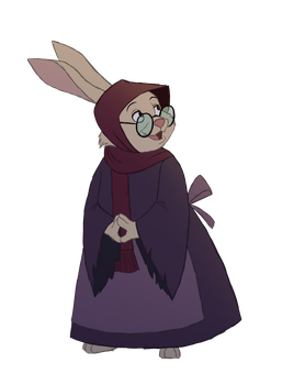 Disney Girls Collab- Mother Rabbit by Atarial