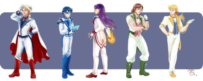 Moon Prism Power MALE UP by hollarity