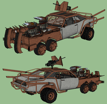 Mad Max Concept by RustyHauser