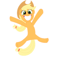 Happy hopping AJ by Dragonfoorm