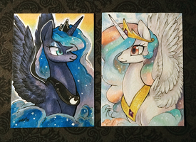Princess Sisters by YardSaleCouch