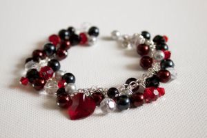 Queen Of Hearts Bracelet by YourSweetTreat