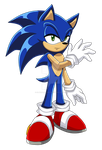 Sonic The Hedgehog by SilverAlchemist09