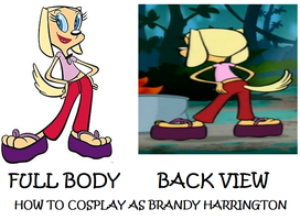 How to Cosplay as Brandy Harrington by Prentis-65