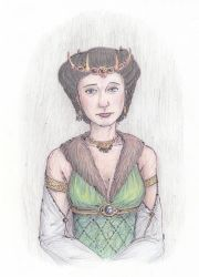 An Image of a Queen of Charn by EvaneyReddeman