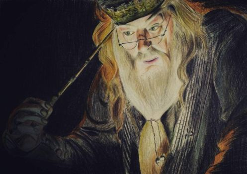 albus dumbledore by kandoll