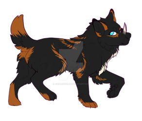 [open adopt] pupper 4 by Asenagowild