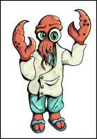 Dr. Zoidberg by metalandy
