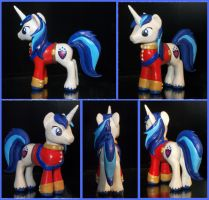 Shining Armor sculpture commission by MadPonyScientist