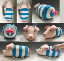 Poogie Plush Prototype by WhittyKitty