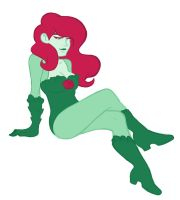 Poison Ivy Print by JICheshire