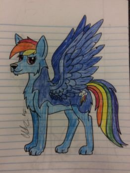 Rainbow Dash by Timelord909