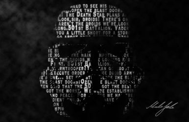 StormTrooper Quotes Wallpaper by TheMaxico90