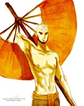 Avatar Aang - adult by ChristyTortland