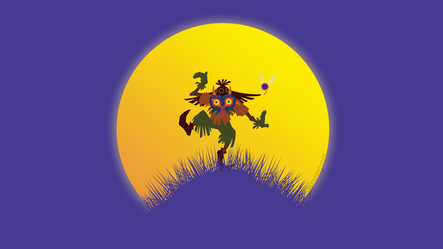 The Legend of Zelda: Majora's Mask by Sephiroth508