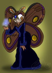 Comm-Bell the Moth by HanakoFairhall