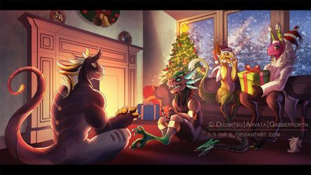 Holiday Grems Collab by Gabberforth