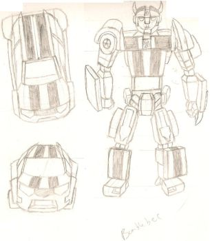 Rough Bumblebee concept by dracowheelz5