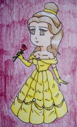 Chibi Belle by Punisher2006