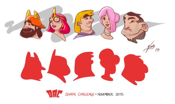 DAC Shape Challenge - November 2015 by Wagnr