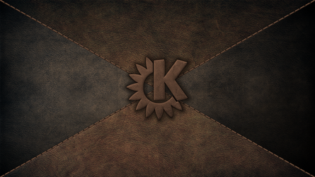 KDE on Leather_v2 by giancarlo64