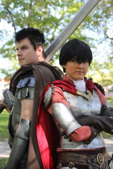 -Berserk Guts and Casca- Tracon 2014 Finland by Tappajapappi