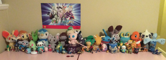 My Swagtastic Pokemon Collection Update 4 by tinystalker