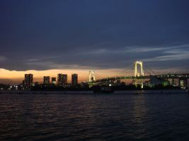 rainbow bridge by ckgorogoro